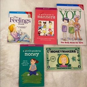American girl books The Care and keeping of you